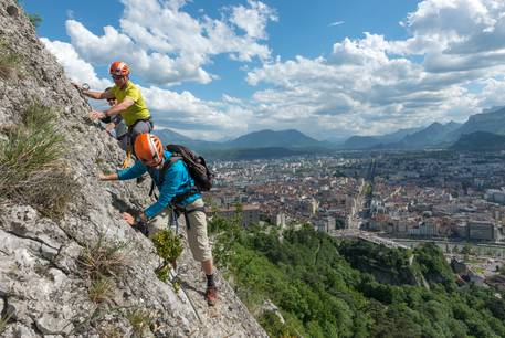 Via ferrata Bastille