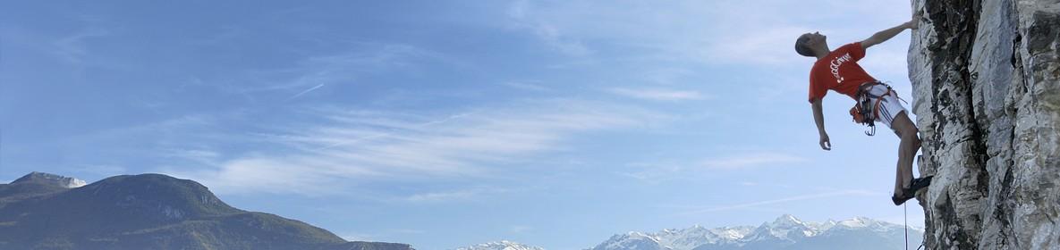 Escalade falaise Grenoble
