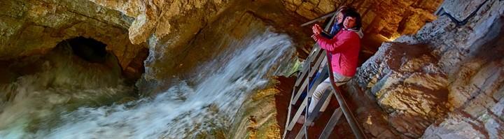 Cuves de Sassenage cascade eau cavité