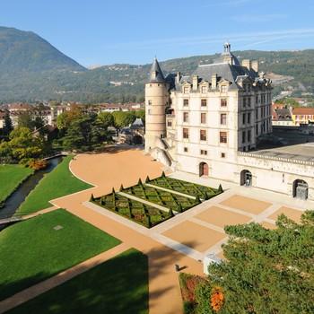 Domaine de Vizille château parc
