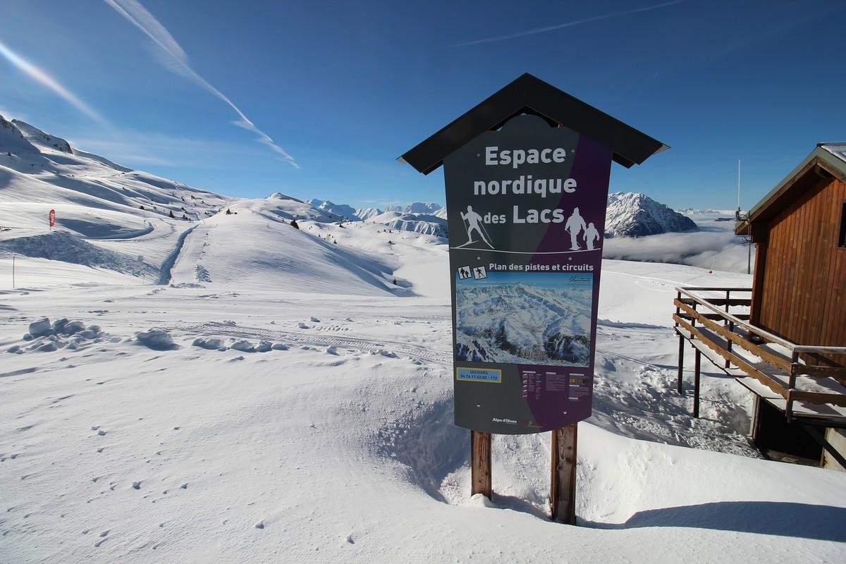 Domaine ski nordique oz vaujany - Office de tourisme vaujany ...