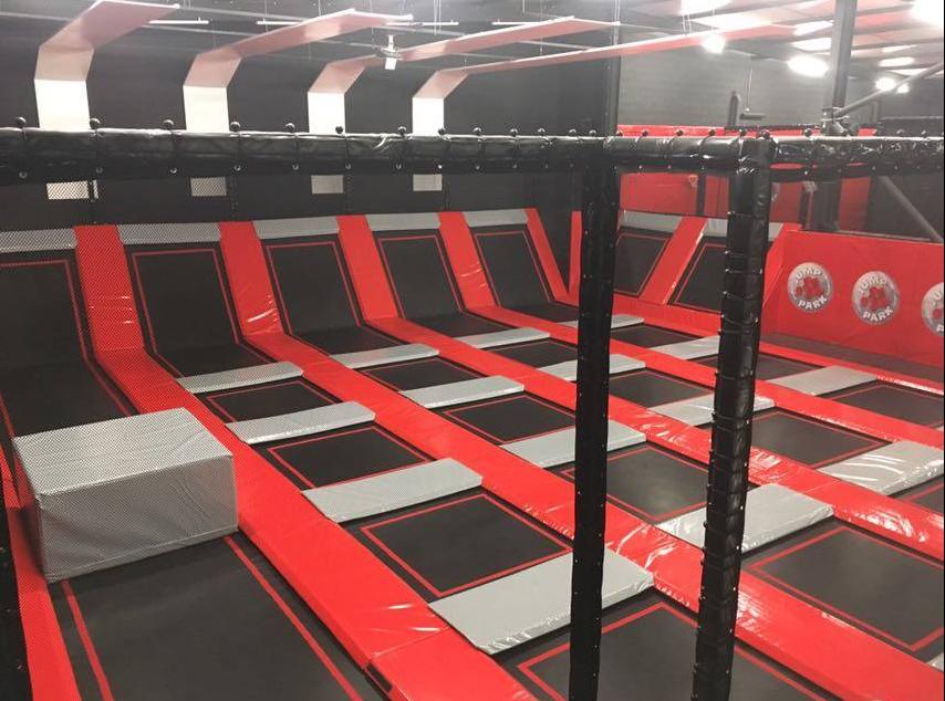 jump park indoor trampoline grenoble france. Black Bedroom Furniture Sets. Home Design Ideas